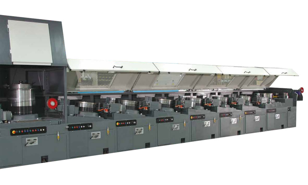 Multipass Wire Drawing Machines